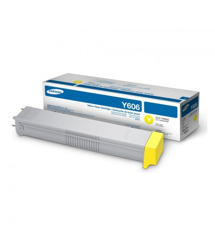 CLT-Y606S лазерный картридж Samsung жёлтый