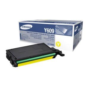 CLT-Y609S лазерный картридж Samsung жёлтый