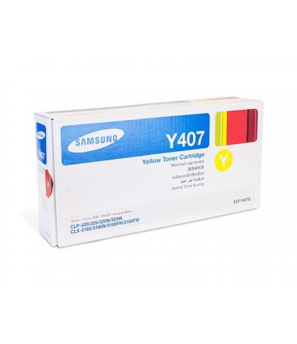 CLT-Y407S лазерный картридж Samsung жёлтый