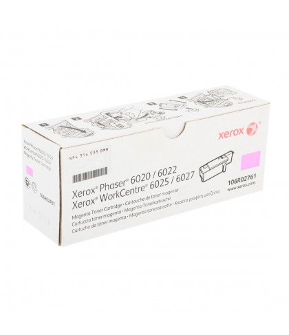106R02761 картридж для Xerox Phaser 6020 / 6022 / WC6025 / 6027 magenta