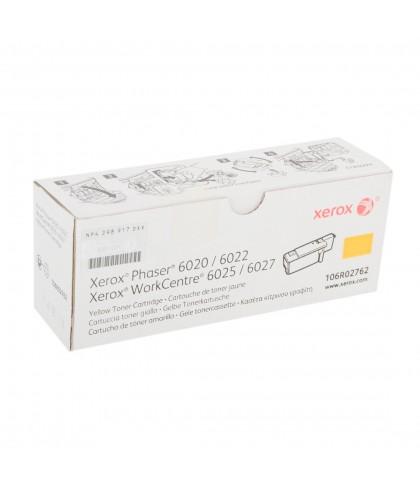 106R02762 картридж для Xerox Phaser 6020 / 6022 / WC6025 / 6027 yellow