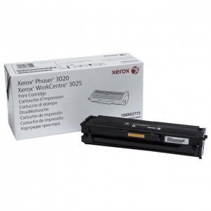 106R02773 картридж для Phaser 3020 / WC3025 black