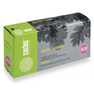 CS-CLT-Y409S совместимый картридж Cactus